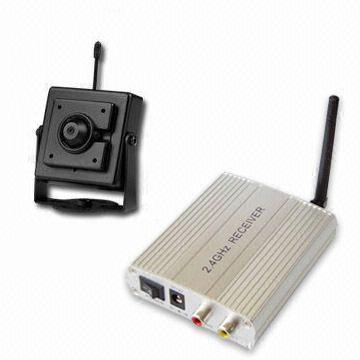 WIRELESS CCD CAMERA + RECEIVER Image